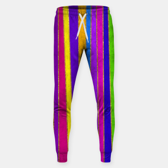 Thumbnail image of Vertical Stripes Sweatpants, Live Heroes