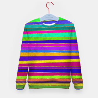 Thumbnail image of Vertical Stripes Kid's sweater, Live Heroes