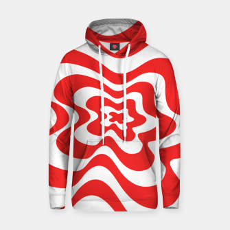 Imagen en miniatura de Abstract pattern - red and white. Hoodie, Live Heroes