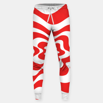 Imagen en miniatura de Abstract pattern - red and white. Sweatpants, Live Heroes