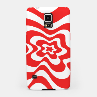 Imagen en miniatura de Abstract pattern - red and white. Samsung Case, Live Heroes