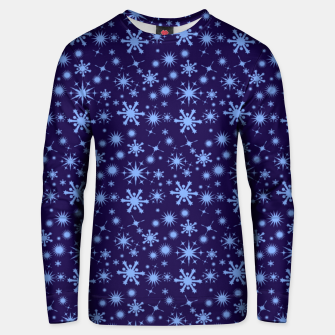 Thumbnail image of Snowflake 1 Unisex sweater, Live Heroes