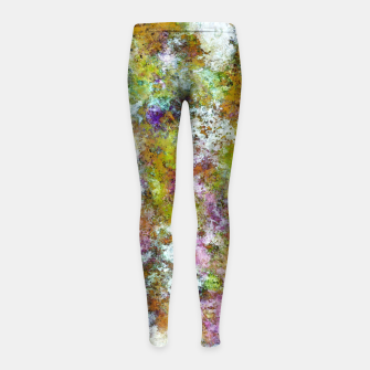 Thumbnail image of Frosting Girl's leggings, Live Heroes