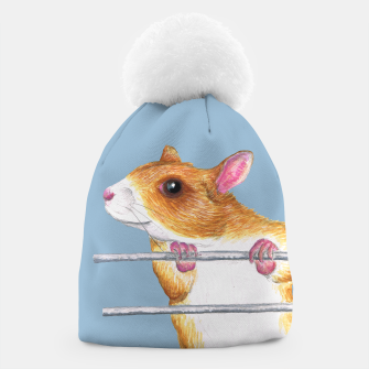 Thumbnail image of Happy rat beanie, Live Heroes