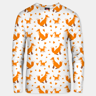 Miniatur Cute Baby Fox Happy Mothers Day Gifts Wild Animal Lover Unisex sweater, Live Heroes