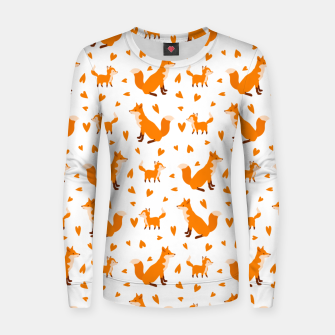 Miniatur Cute Baby Fox Happy Mothers Day Gifts Wild Animal Lover Women sweater, Live Heroes