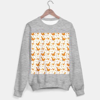 Miniatur Cute Baby Fox Happy Mothers Day Gifts Wild Animal Lover Sweater regular, Live Heroes