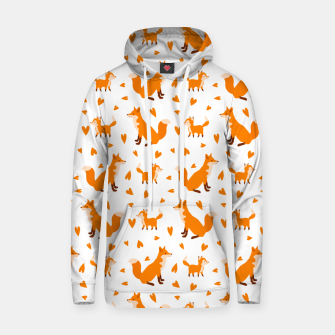 Thumbnail image of Cute Baby Fox Happy Mothers Day Gifts Wild Animal Lover Hoodie, Live Heroes