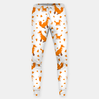 Miniatur Cute Baby Fox Happy Mothers Day Gifts Wild Animal Lover Sweatpants, Live Heroes