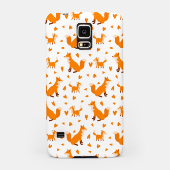 Miniatur Cute Baby Fox Happy Mothers Day Gifts Wild Animal Lover Samsung Case, Live Heroes