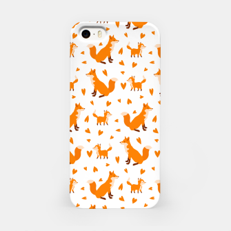 Miniatur Cute Baby Fox Happy Mothers Day Gifts Wild Animal Lover iPhone Case, Live Heroes