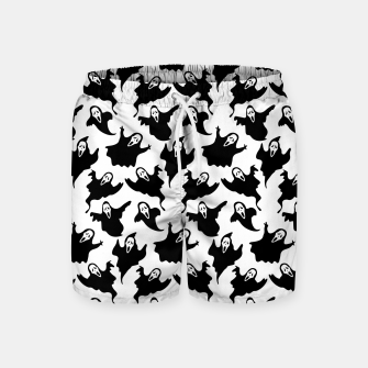 Scream Halloween Ghost Gifts Boo Scary Movies Horror Swim Shorts thumbnail image