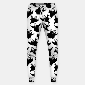 Scream Halloween Ghost Gifts Boo Scary Movies Horror Sweatpants thumbnail image
