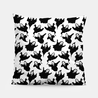 Scream Halloween Ghost Gifts Boo Scary Movies Horror Pillow thumbnail image