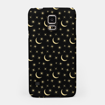 Thumbnail image of Half Moon Stars Universe Space Lover Gifts Astronomy Samsung Case, Live Heroes
