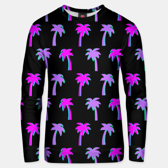 Thumbnail image of Retro Palm Tree Vaporwave Style Vintage Gifts Beach Lover Unisex sweater, Live Heroes