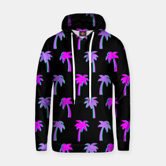 Thumbnail image of Retro Palm Tree Vaporwave Style Vintage Gifts Beach Lover Hoodie, Live Heroes