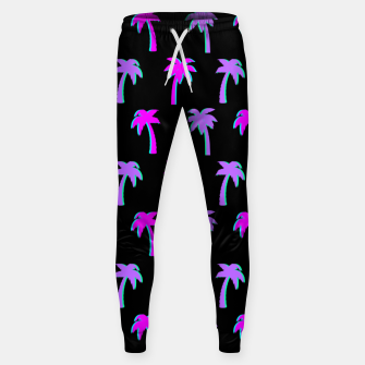 Thumbnail image of Retro Palm Tree Vaporwave Style Vintage Gifts Beach Lover Sweatpants, Live Heroes