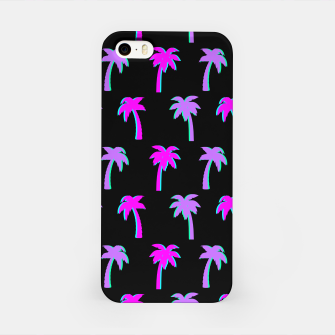 Thumbnail image of Retro Palm Tree Vaporwave Style Vintage Gifts Beach Lover iPhone Case, Live Heroes