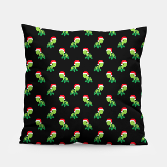 Thumbnail image of Cute Turtle Gift Sea Animal Merry Christmas Santa Claus Xmas Pillow, Live Heroes