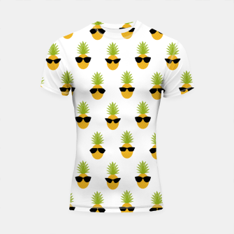 Miniature de image de Funny Pineapple Gifts Fruit Lovers Sunglasses Summer Shortsleeve rashguard, Live Heroes