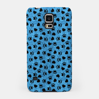 Thumbnail image of Paw Print Gifts Cat Lovers Cute Kitten Heart Animal Love Samsung Case, Live Heroes