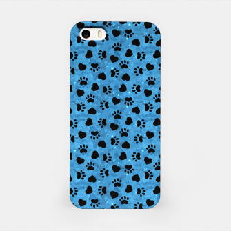 Thumbnail image of Paw Print Gifts Cat Lovers Cute Kitten Heart Animal Love iPhone Case, Live Heroes
