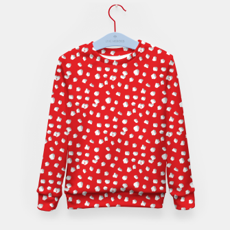 Thumbnail image of Amanita Muscaria Fly Agaric Magic Mushroom Fungi Gifts Kid's sweater, Live Heroes
