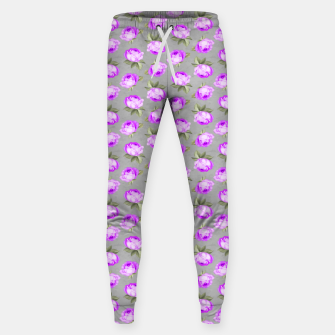 Roses Pattern Garden Lovers Gifts Gardener Floral Prints Sweatpants thumbnail image