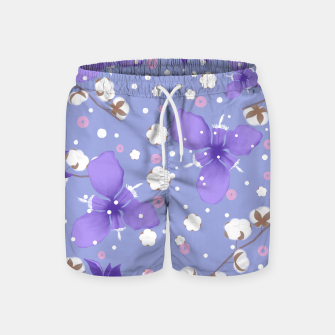 Thumbnail image of cotton girl Swim Shorts, Live Heroes