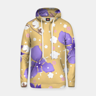 Thumbnail image of cotton girl (yellow) Hoodie, Live Heroes