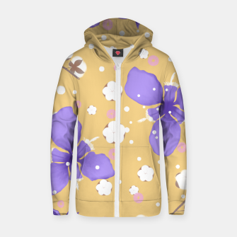 Thumbnail image of cotton girl (yellow) Zip up hoodie, Live Heroes