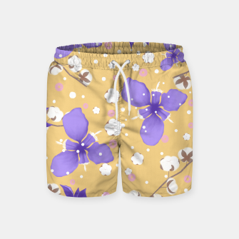 Thumbnail image of cotton girl (yellow) Swim Shorts, Live Heroes