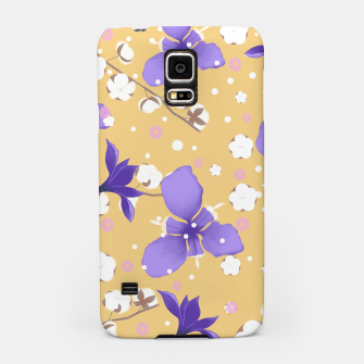 Thumbnail image of cotton girl (yellow) Samsung Case, Live Heroes