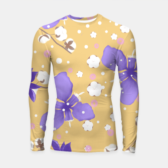 Thumbnail image of cotton girl (yellow) Longsleeve rashguard , Live Heroes