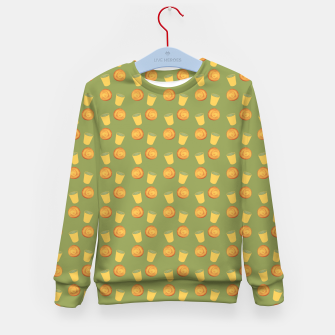 Thumbnail image of Bakery time Kid's sweater, Live Heroes