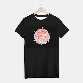 Thumbnail image of ROSE T-shirt regular, Live Heroes