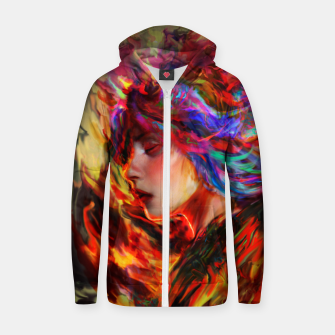 Thumbnail image of spring Zip up hoodie, Live Heroes
