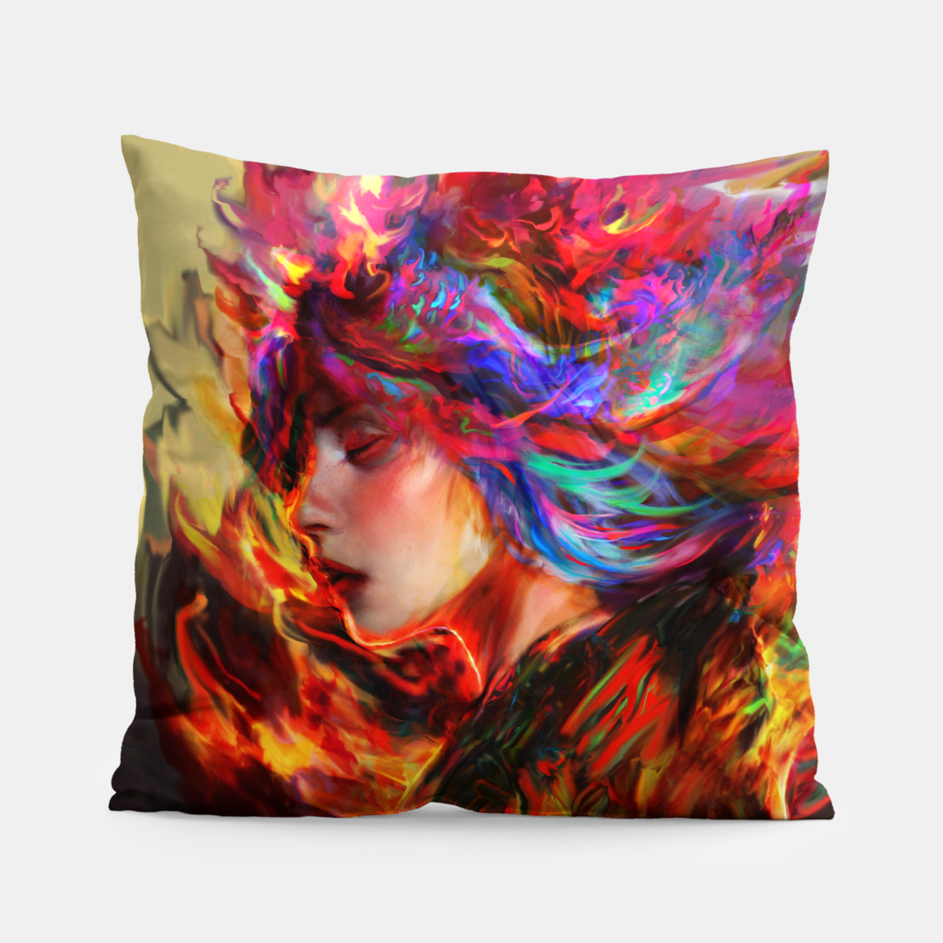 Image of spring Pillow - Live Heroes