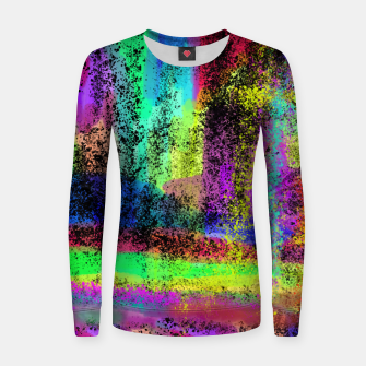 Thumbnail image of Watercolor 1 Women sweater, Live Heroes