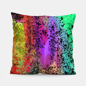 Thumbnail image of Watercolor 1 Pillow, Live Heroes