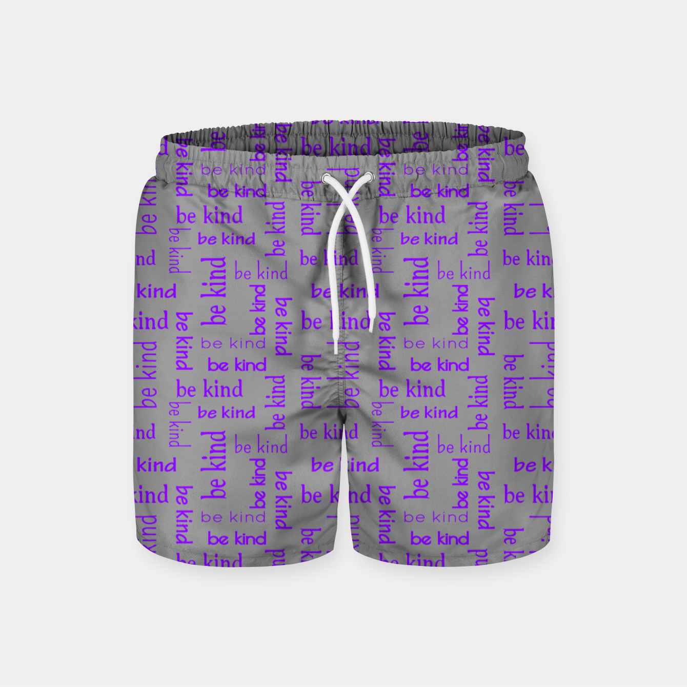 Image of Be Kind Quote Kindness Gifts Motivational Inspirational Swim Shorts - Live Heroes