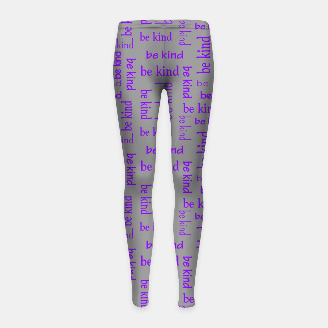 Image of Be Kind Quote Kindness Gifts Motivational Inspirational Girl's leggings - Live Heroes