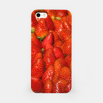 Miniaturka Colorful Strawberries Photo iPhone Case, Live Heroes
