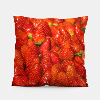 Miniaturka Colorful Strawberries Photo Pillow, Live Heroes
