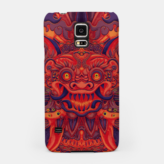 Miniatur Red Bali Samsung Case, Live Heroes