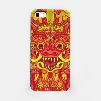 Miniatur Yellow Bali iPhone Case, Live Heroes