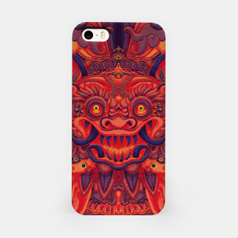 Miniatur Red Bali iPhone Case, Live Heroes