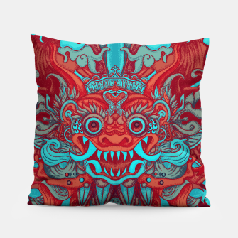 Thumbnail image of Neon Bali Pillow, Live Heroes