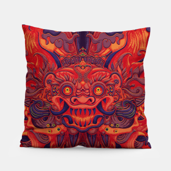 Miniatur Red Bali Pillow, Live Heroes
